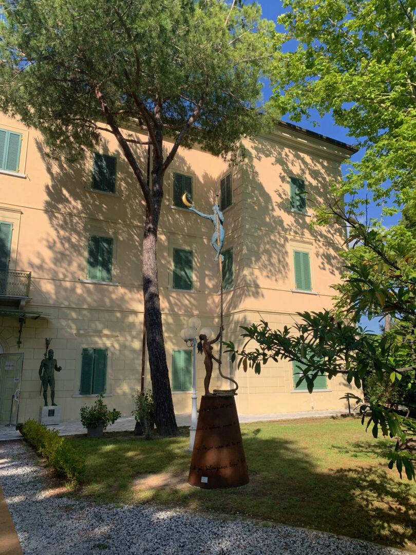 Villa Bertelli, Giacinto Bosco