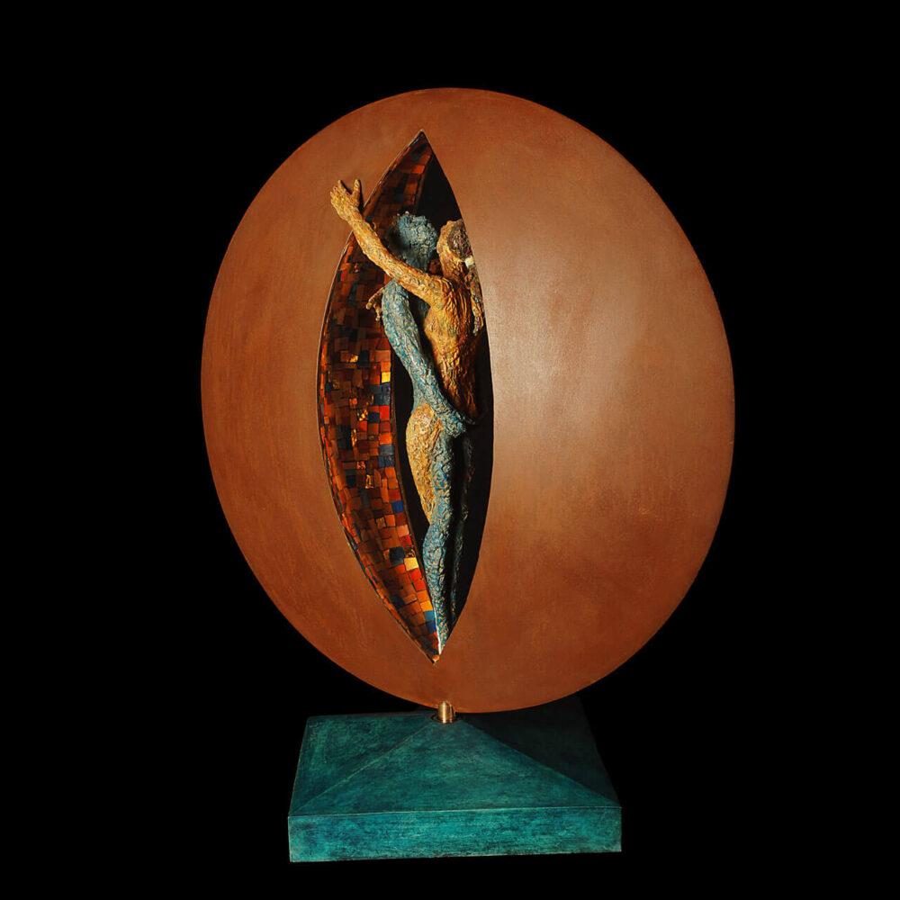 Travolti dalla luna mosaico colorato Giacinto Bosco