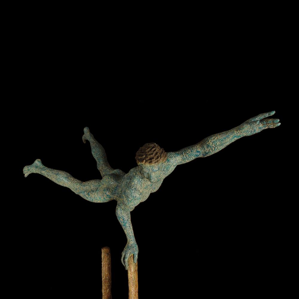 Acrobata su scala grande Giacinto Bosco