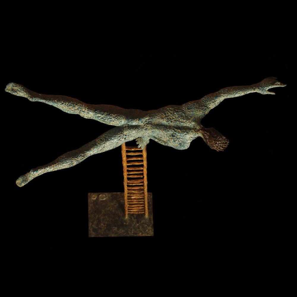 Acrobata su scala Giacinto Bosco