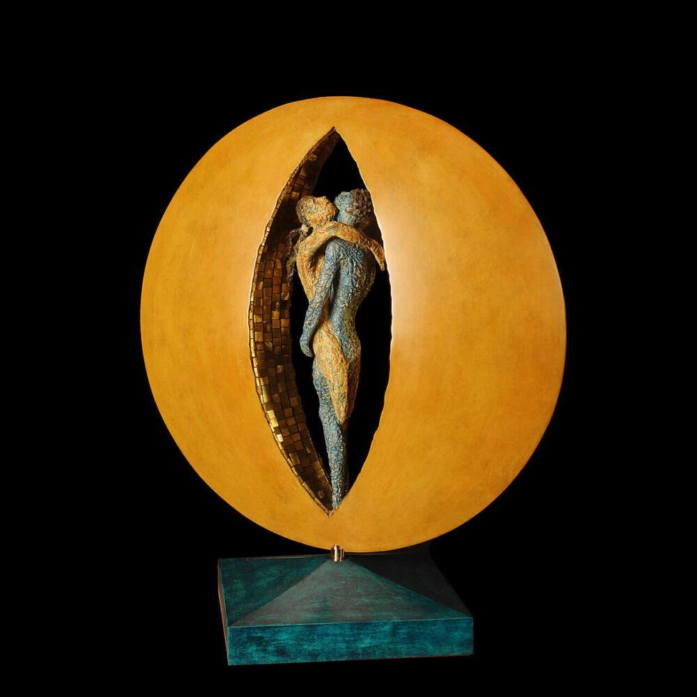 Travolti dalla luna Mosaico oro Giacinto Bosco